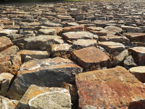 background cobbles stones