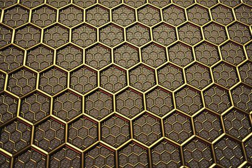 background texture hexagon