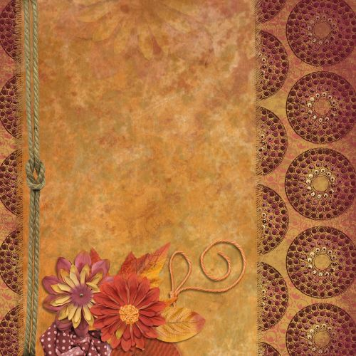 background scrapbooking fall