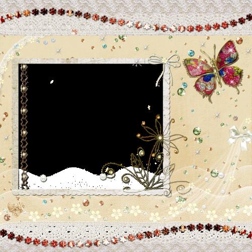 background scrapbook butterfly