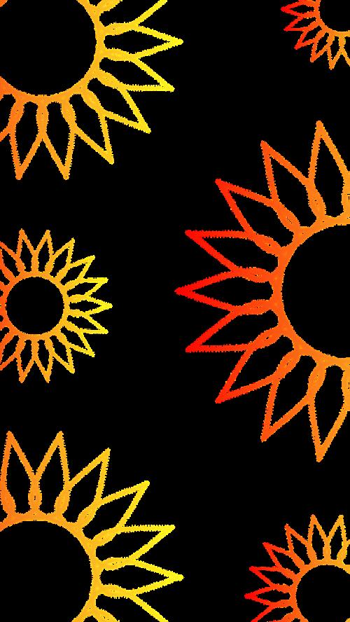 background flowers sunflower