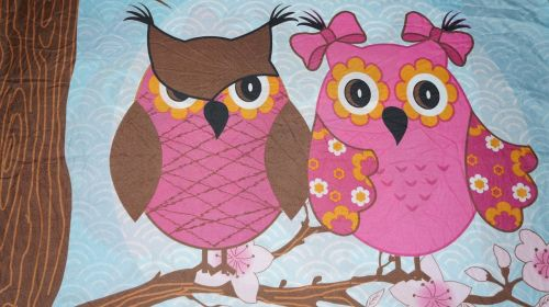 background texture owls