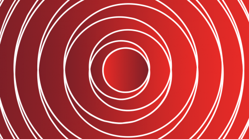 background circles red