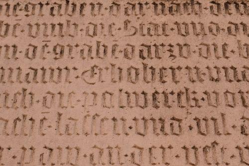 background font old german