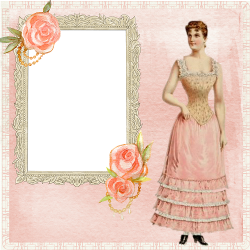 background page lady