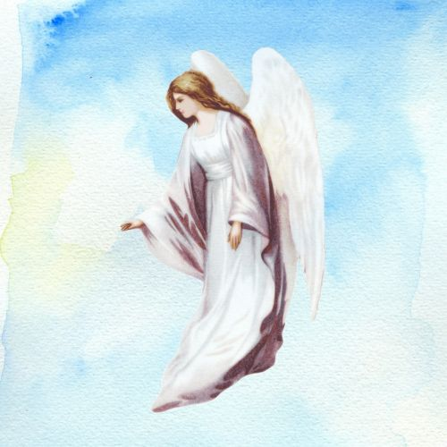 background page angel