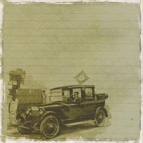 background vintage car