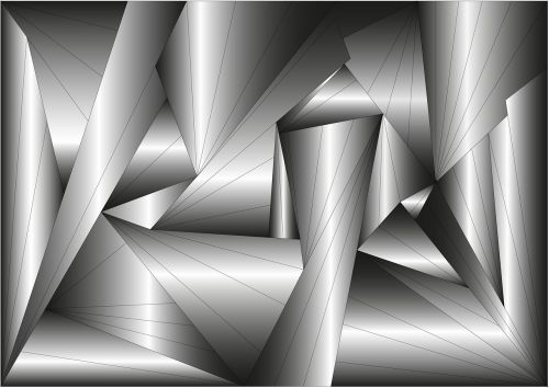background polygonal triangles