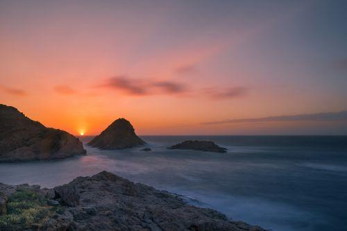 background sunset abendstimmung
