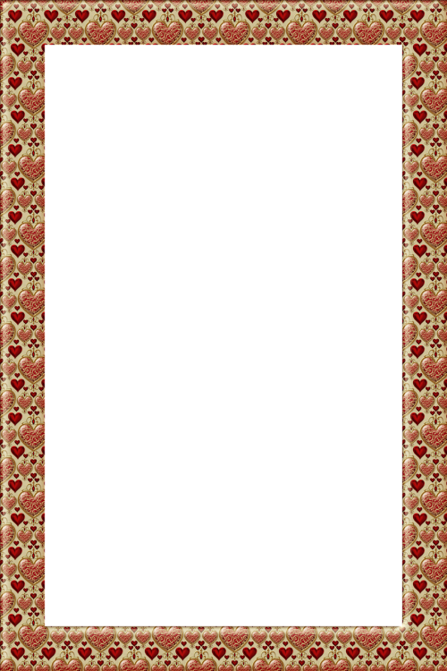 background frame heart