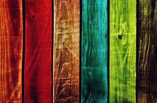 background wood planks kunterbunt