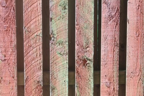 background wood fence