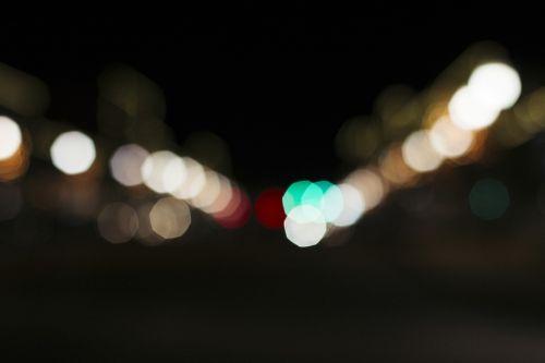 background bokeh city lights