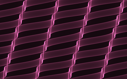 background pink ribbons abstract