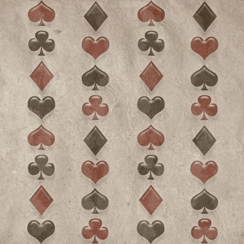 background hearts spades