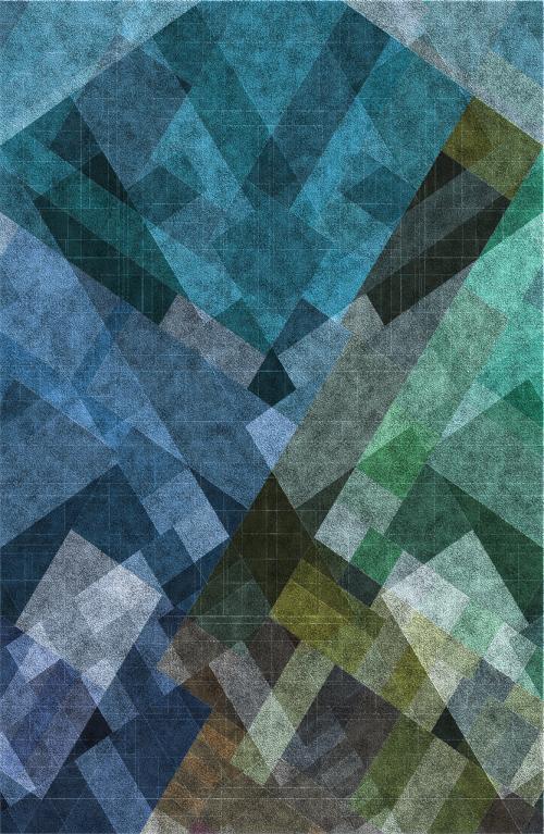 background blue green
