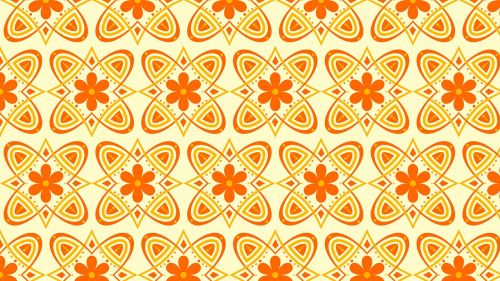 background floral forms