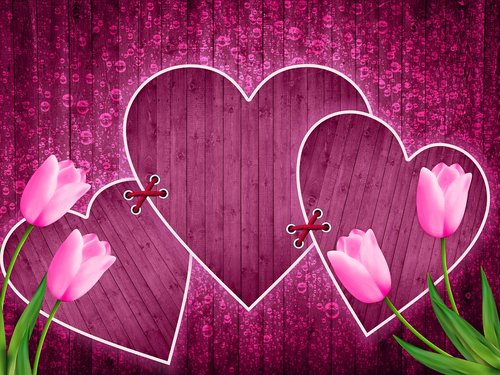 background  design  heart
