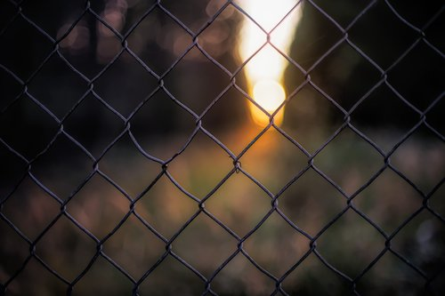 background  fence  grid