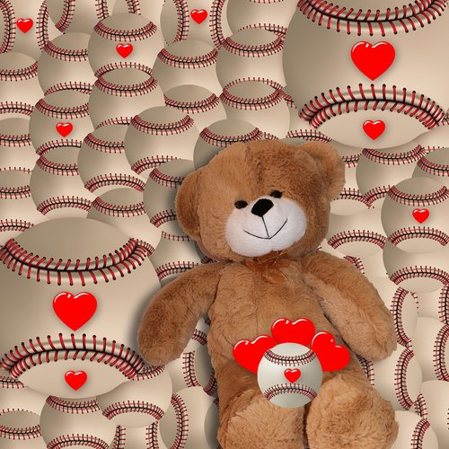 background  background romantic  teddy bear