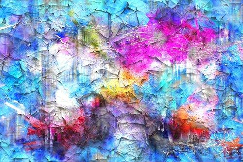 background  crackle  art