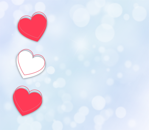 background  bokeh  hearts