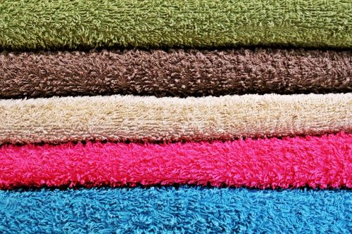 background towels colorful