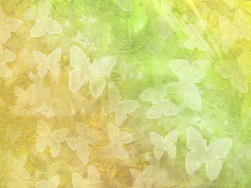 background floral butterflies