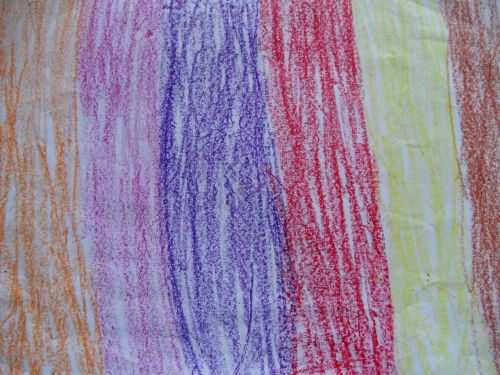 background children drawing stripes