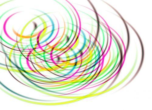 background circles concentric circles