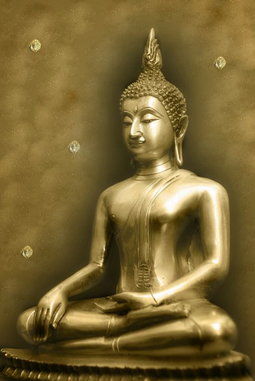 background serene budha