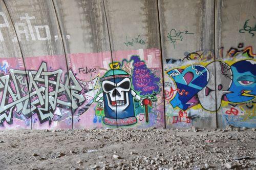 graffiti mural background