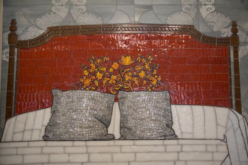 Background From Tiles Mosaic