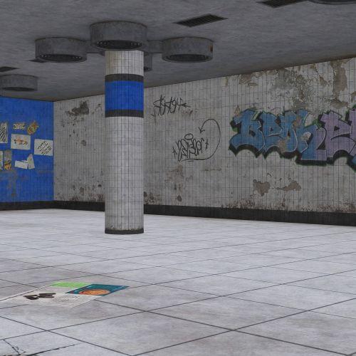 background image subway station underground
