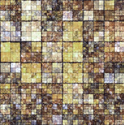 Background Of Brown Squares