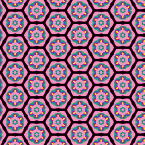 background pattern tile flower pattern