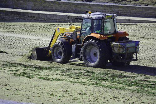 backhoe site construction equipment