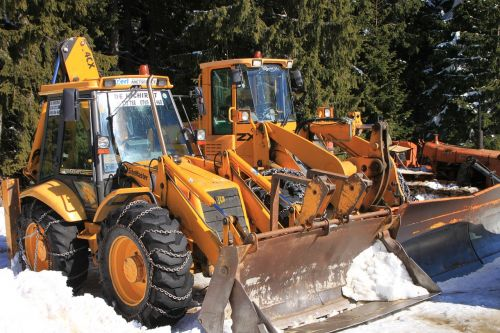 backhoe cold digger