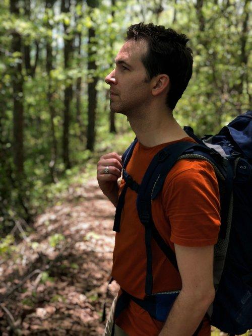 backpacker  backpack  adventure