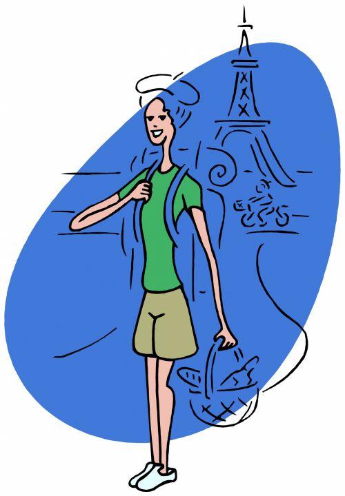 Backpacking - Paris