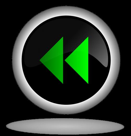 backwards button icon