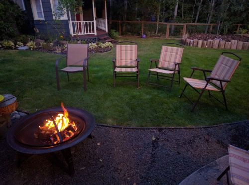 backyard fire pit chairs