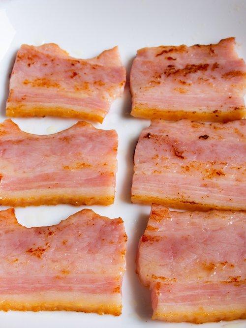 bacon  meat  pork