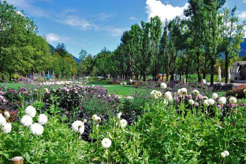 bad ischl salzkammergut garden