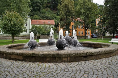 bad schandau city ​​park spa town