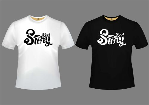 bad story design tshirt