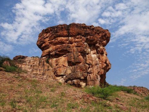 badami rocks sandstone
