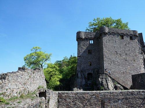 baden baden  castle  old