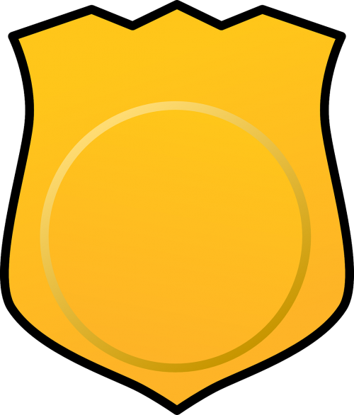 badge detective investigator