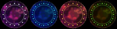 badge button icon